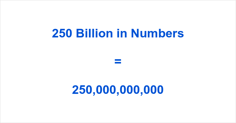 how to read numbers in billions
